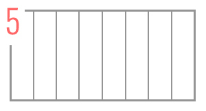 Wezgłowie tapicerowane 8 paneli pionowo