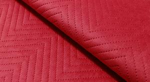 Tkanina pikowana z kolekcji Jasmine czerwony