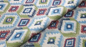 Wyjątkowa i oryginalna tkanina wzorzysta, wykorzystywana do niebanalnych projektów